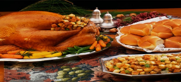 Thanksgiving Day Service and Dinner