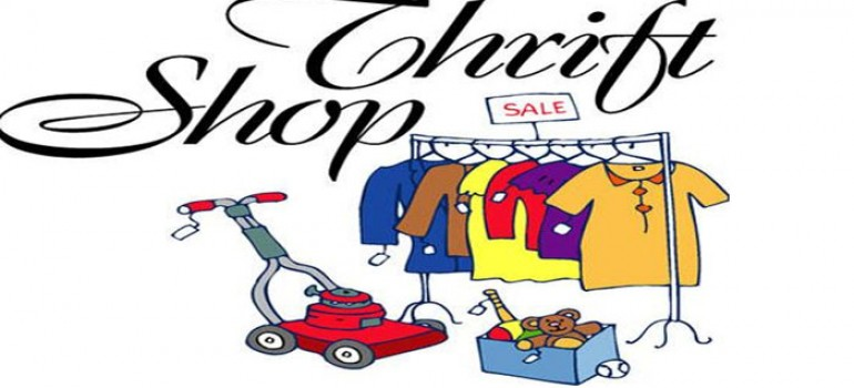Thrift Store Re-Opens Tuesday August 1st!