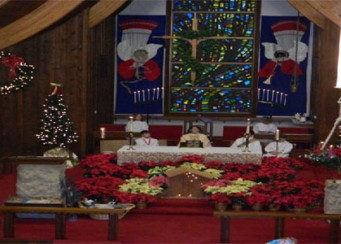 Christmas Eve Candlelight Eucharist Services