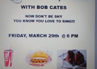 Karaoke Night with Bob Cates