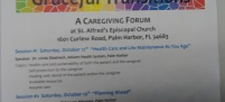 Graceful Transitions: A Caregiving Forum