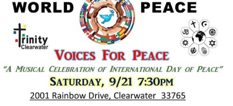 "Interfaith, Community Concert ""Voices for Peace"""